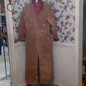 Carhartt insulated coveralls